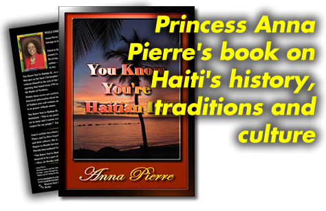 Anna Pierre's book on Haitian History, Traditions and Culture